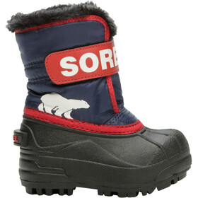 Sorel Snow Commander Buty Dzieci, nocturnal/sail red